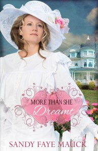 more than she dreamt book cover