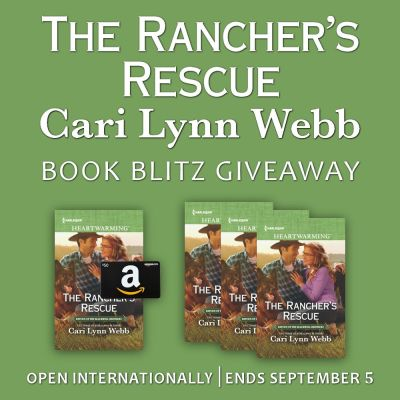 1 Winner Will Receive A 50 Amazon EGift Card And Copy Of THE RANCHERS RESCUE Print To US CAN Ebook International