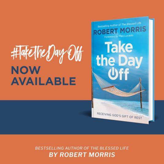 RobertMorris_TaketheDayOff_SocialMedia_NowAvailable