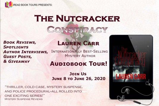 THE NUTCRACKER CONSPIRACY Audiobook Tour Banner