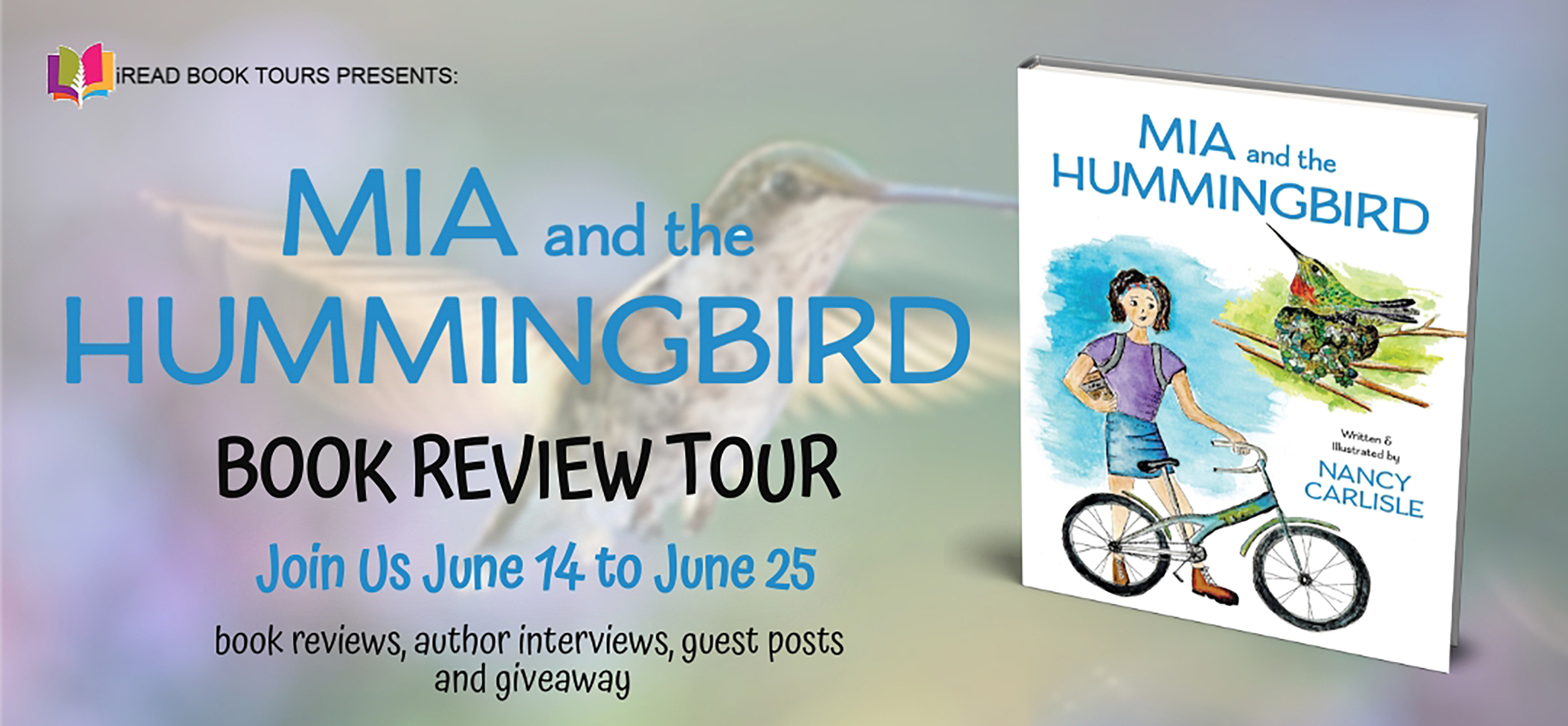 Mia and the Hummingbird Tour Banner